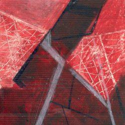 Road, 13*10 cm, gouache on paper, 2003
