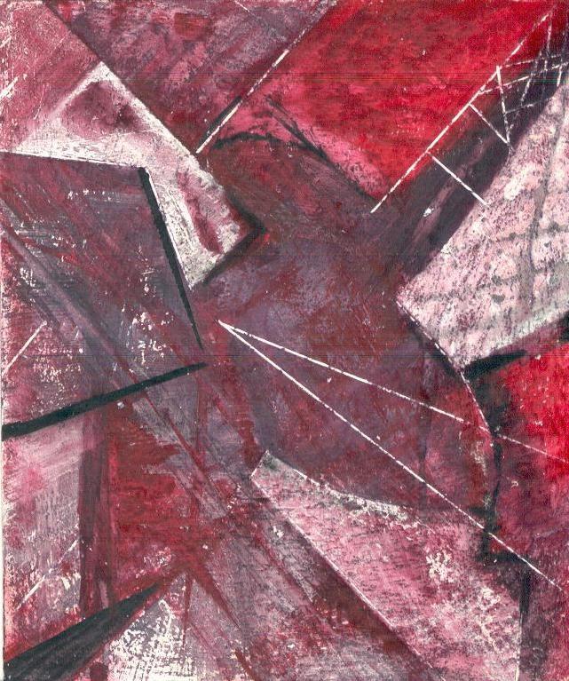 Heart, 13*10 cm, gouache on paper, 2003