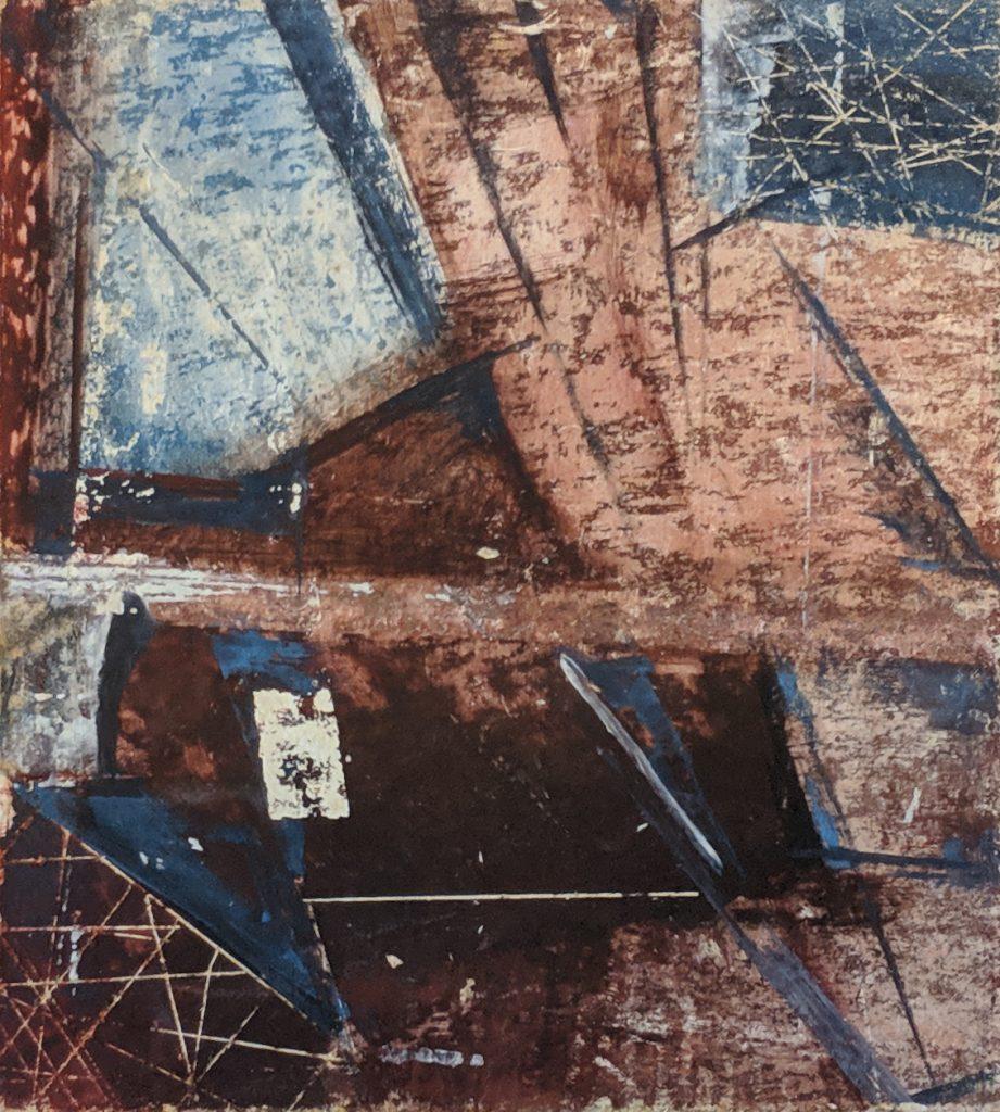 Process 2, 13*10 cm, gouache on paper, 2005