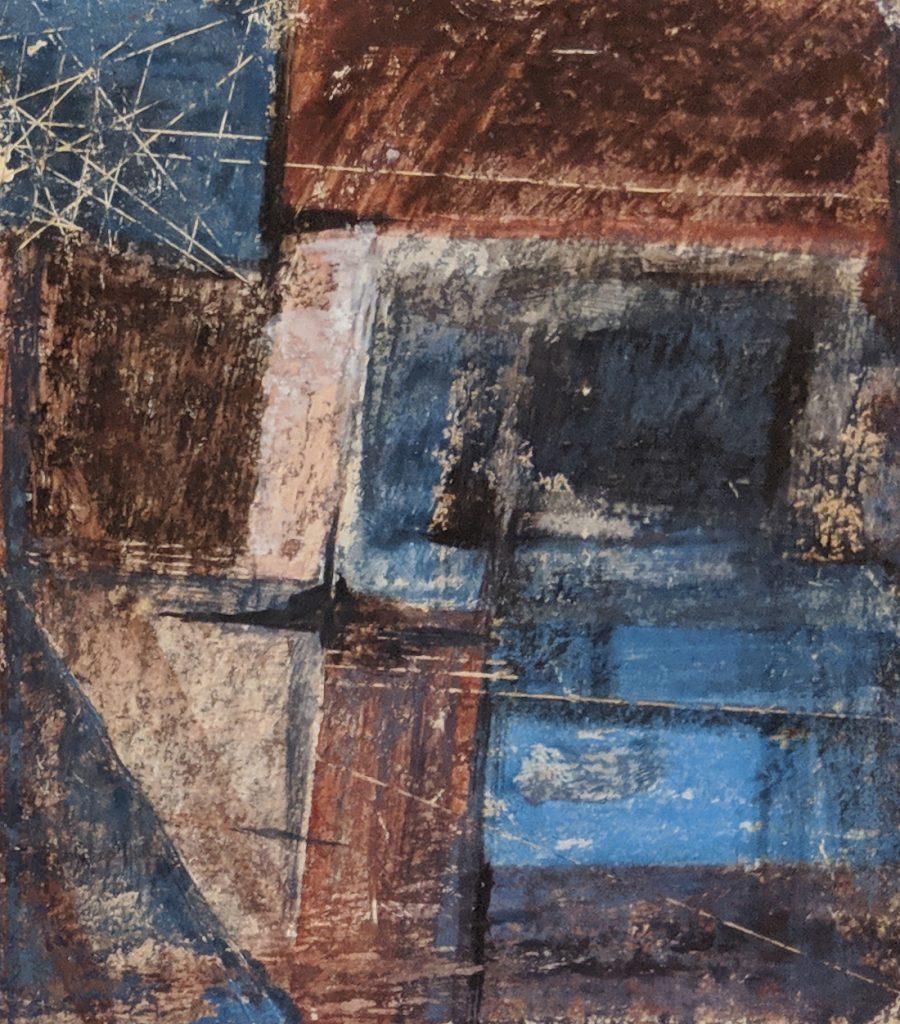 Process 3, 13*10 cm, gouache on paper, 2005